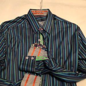 Robert Graham Dress Shirt -Large